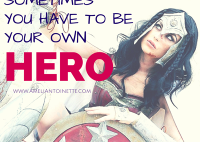 Sometimes you have to be your own hero #WOW