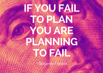If you fail to plan, you are planning to fail #WOW