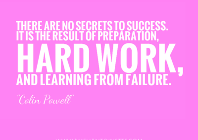 Preparation + hard work + learning from failure = SUCCESS  #WOW