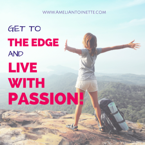 Get to the edge and live with passion! #WOW