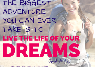 Live the life of your dreams! #WOW