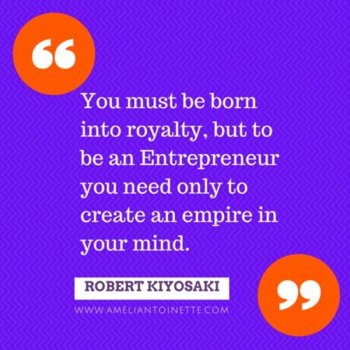 Create an empire in your mind. Robert Kiyosaki #WOW
