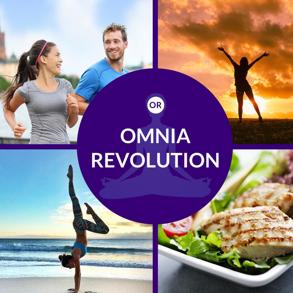 Ameli Antoinette Omnia Revolution Healthier, Sexier, Stronger You.