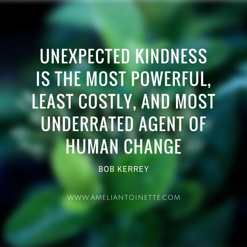 Unexpected kindness #WOW Ameli Antoinette