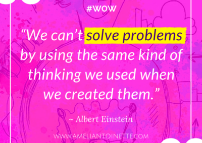 Solve problems #WOW
