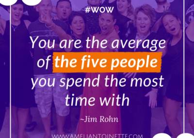 The average of the five people #WOW