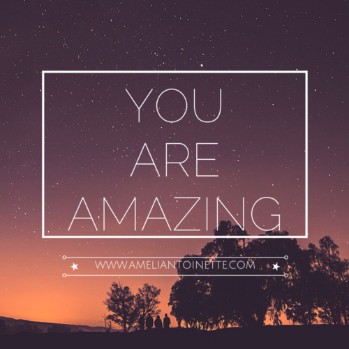 You Are Amazing #WOW